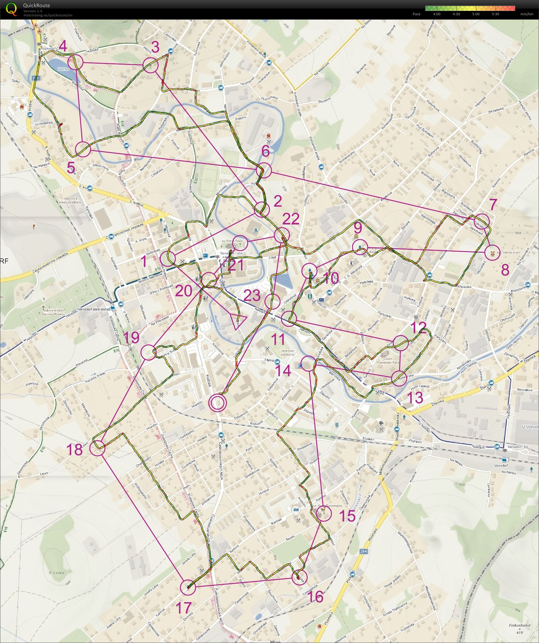 Varnsdorf City Run (25/12/2018)